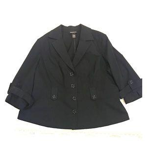 Lane Bryant Jacket. Black Jacket.